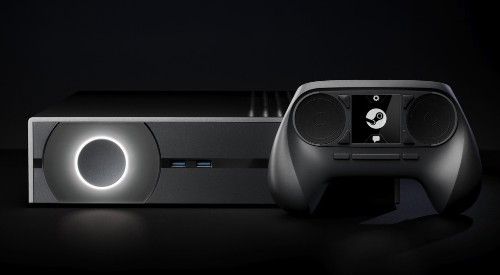 We play with the Steam Machine, Valve's game console of the future