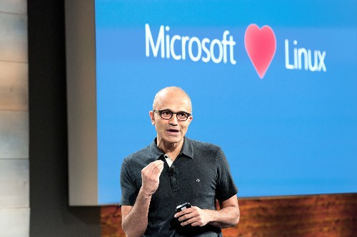 Microsoft really does love Linux