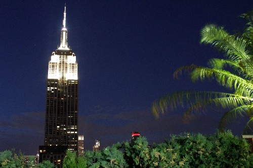 Last night The Empire State Building became the face of extinction