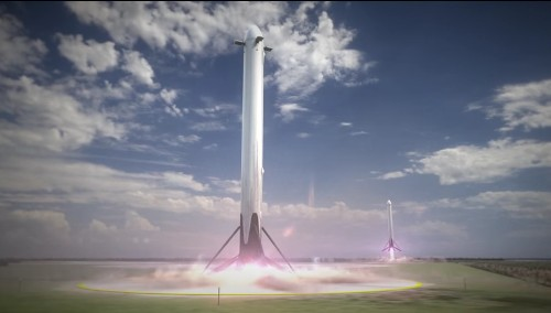 SpaceX will try to land its next Falcon 9 rocket on solid ground, NASA says