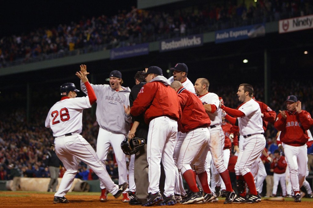 The Red Sox's 2003 playoff run was wild all the way to its abrupt end