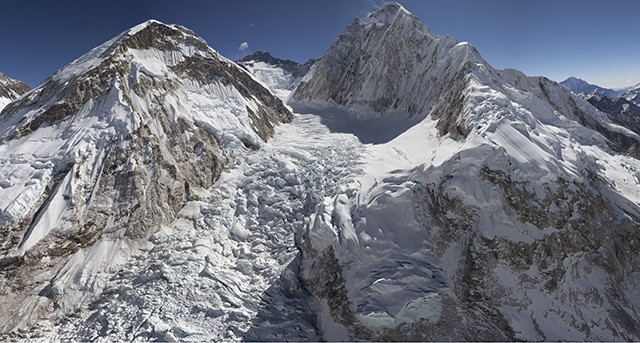 Microsoft helps launch interactive Everest site mapping climate change and 60 years of climbs