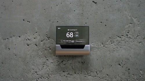 Microsoft unveils a beautiful Cortana-powered thermostat