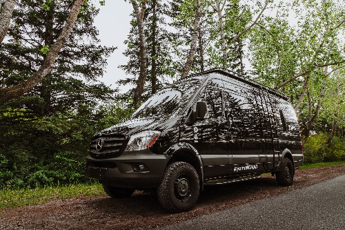 Cool camper van is like a hip apartment on wheels