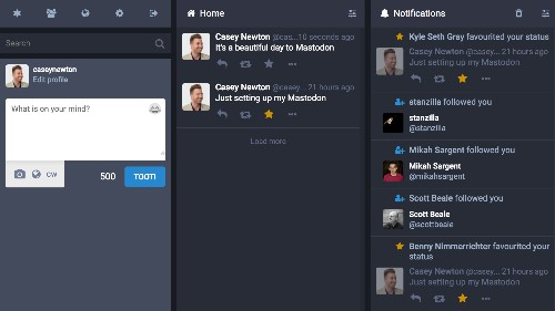 Mastodon.social is an open-source Twitter competitor that's growing like crazy
