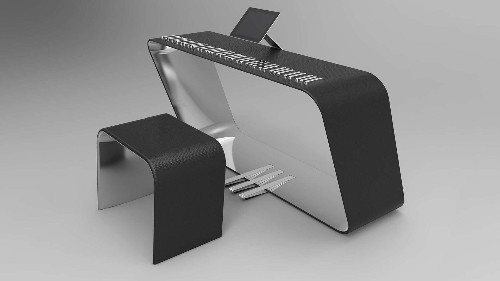 Check out this amazing keyboard created in partnership with Porsche Design