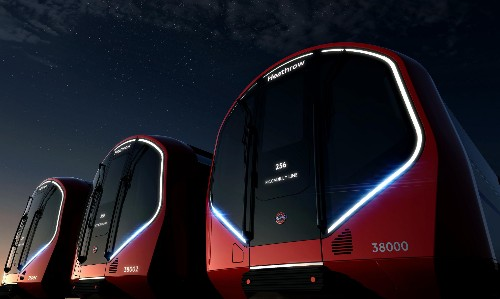 London's new Tube trains come from the future
