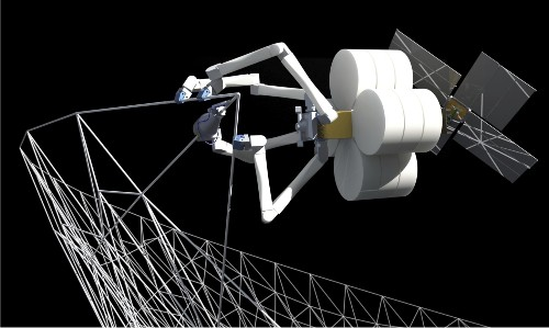 NASA-backed SpiderFab robot aims to build 3D-printed spaceship parts in orbit