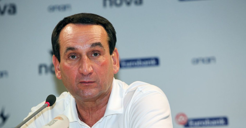 You Tube Gold: Coach K's One International Loss