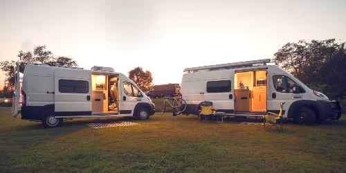 Cozy camper van is a $65K off-grid retreat