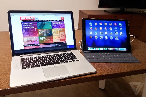 Duet turns your iPad into a monitor running iOS and Mac apps together