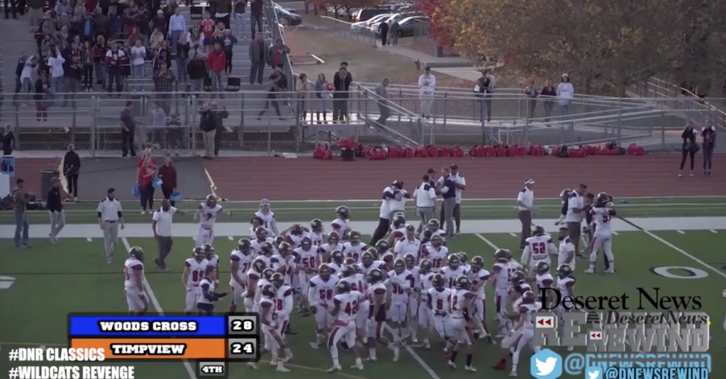 Deseret News Rewind Classics: How Woods Cross earned revenge on Timpview in 2017 playoffs