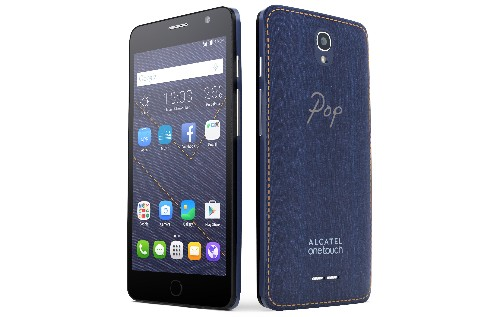 Alcatel finally delivers on the dream of a denim smartphone