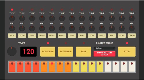 This site lets you DJ with five different drum machines in HTML5