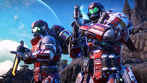 PlanetSide Arena is coming in January, and yeah, it has a battle royale