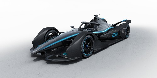 Mercedes-Benz reveals its first real all-electric racecar