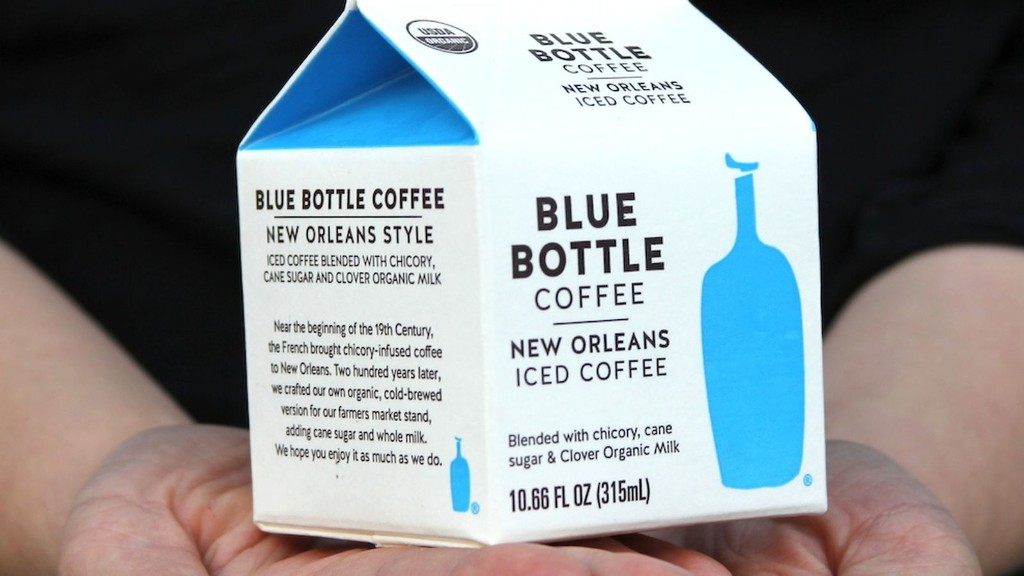 Here's a First Look at Blue Bottle's Packaged Iced Coffee