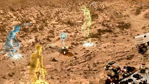 Windows Holographic will let NASA explore what Curiosity sees on Mars