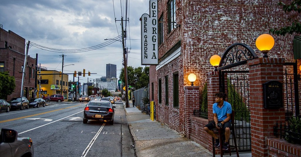 Georgia Beer Garden Is a Destination for Local Brews in Sweet Auburn
