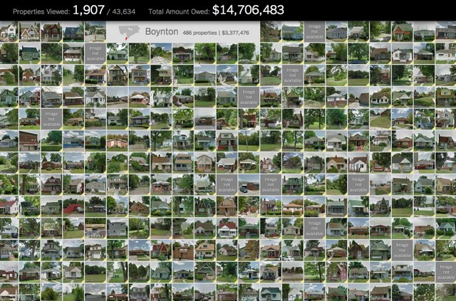 See all 43,634 foreclosed Detroit homes in one place