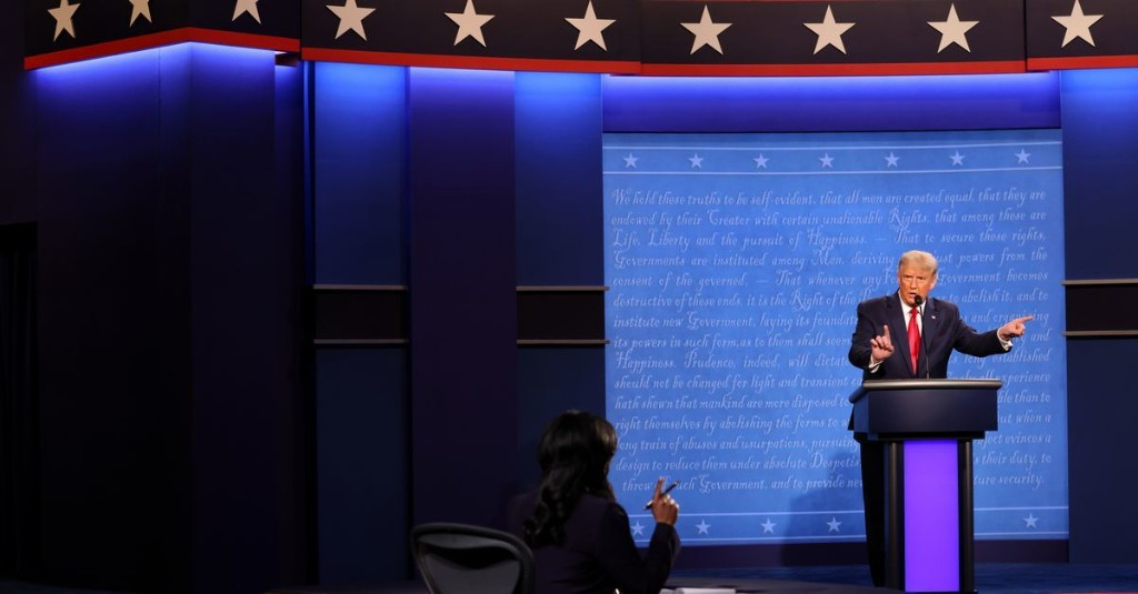 Trump's disappearing populism was on full display at Thursday's debate