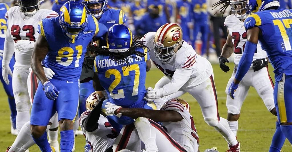 Final Score: Rams 16, 49ers 24