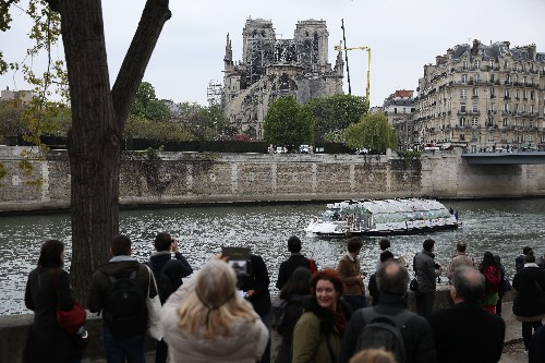 DJI drones helped track and stop the Notre Dame fire