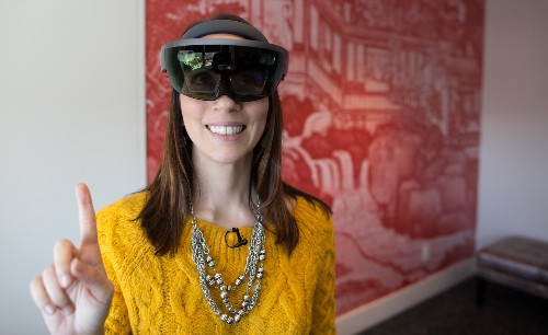 Microsoft says HoloLens sales are in the thousands