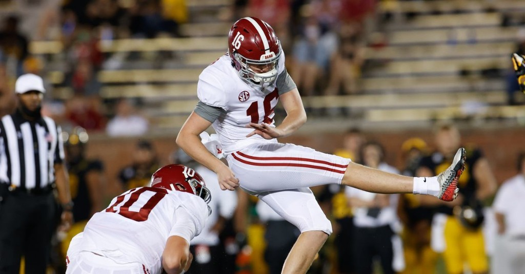 Opponent Preview: Alabama's Special Teams