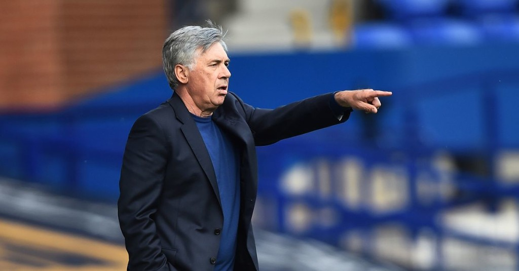 Ancelotti hints at Everton's starting lineup for West Brom