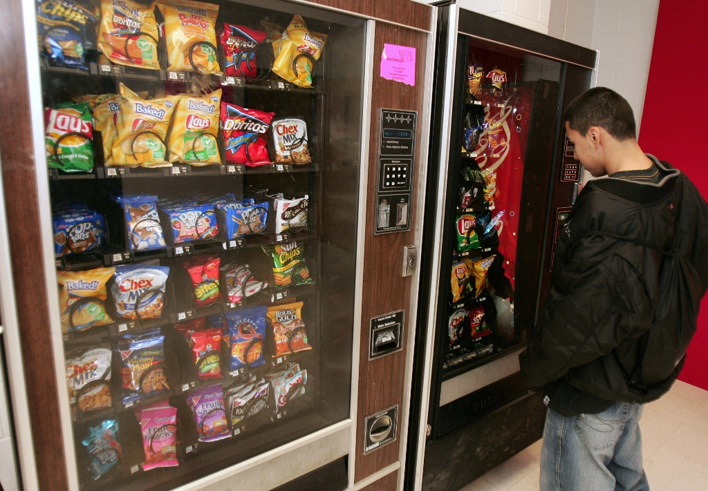 Odd Job: This teen bought a bunch of vending machines. Now he makes six figures.