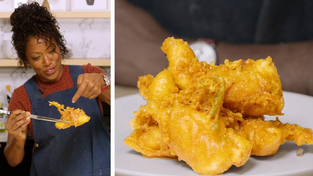 How an Expert Chef Makes Crispy Chicken Tenders