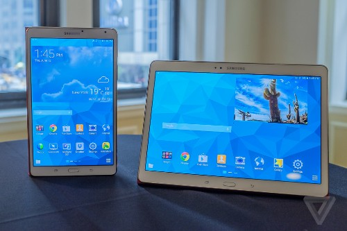 Samsung's razor-thin Galaxy Tab S takes another run at the iPad