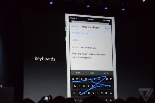 Developers already at work on alternate iOS 8 keyboards