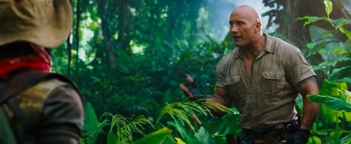 Watch the first trailer for Jumanji: Welcome to the Jungle