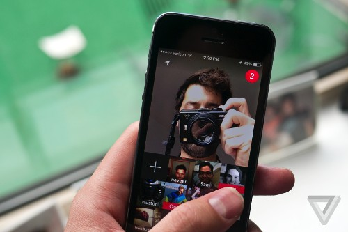 This is the fastest photo chat app in the world