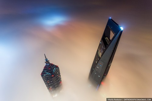 Watch this: climbing China's tallest building under the cover of darkness