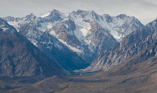 Humanity's thirst for water is making Californian mountains grow
