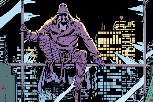Alan Moore created Rorschach to dunk on Randian superheroes