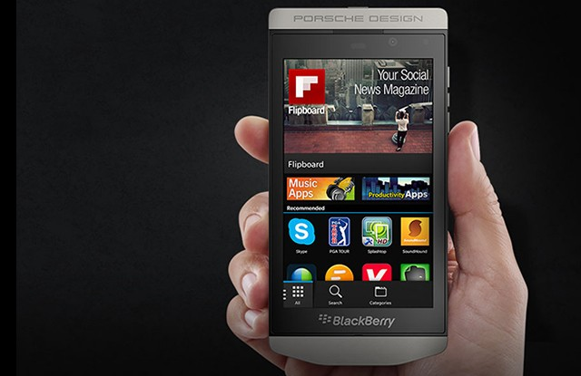 Porsche Design and BlackBerry combine to make a Z10 for the rich and clueless