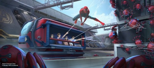 Disney reveals Marvel land plans, with Spider-Man and Black Panther rides