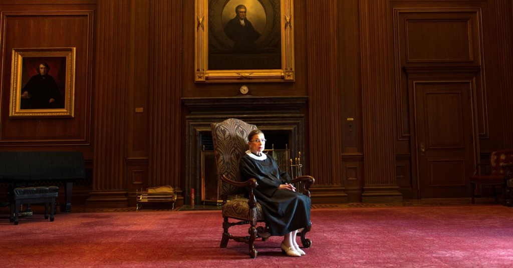 Ruth Bader Ginsburg, Supreme Court justice and feminist icon, is dead at 87 - cover