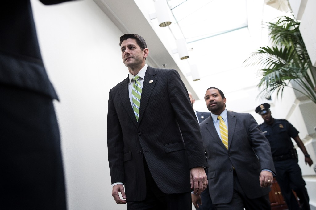 The myth of Paul Ryan was shattered today