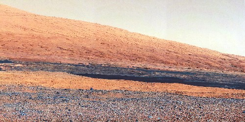 An ancient Martian lake could have been teeming with lots of kinds of life