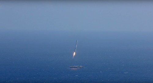 SpaceX will land its next Falcon 9 rocket at sea — not on land