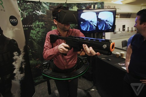 Full-body virtual reality is here, but try not to puke