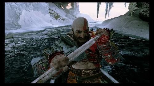God of War's goofy new photo mode is a lot of fun