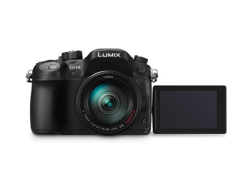 Panasonic's Lumix GH4 mirrorless camera is its first to shoot 4K video