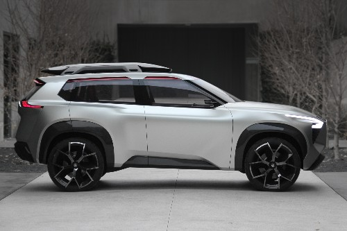 The Nissan Xmotion SUV is more screen than car