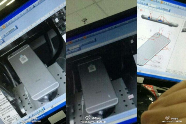 Purported iPhone 6 pictures said to come from inside Foxconn
